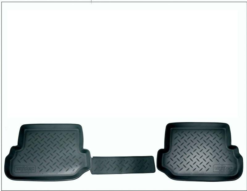 Коврики салона для Toyota Highlander (Тойота Хайлендер) (2014-) (3 ряд), NPA00C88306