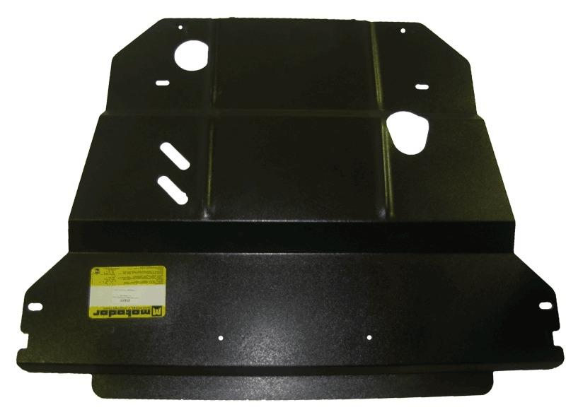 Защита картера двигателя, КПП Peugeot 508 2012- Peugeot 807 2002- V=2,2TD (сталь 2 мм), MOTODOR01617