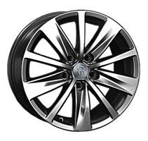 Колесный диск Ls Replica VW121 7x16/5x112 D57.1 ET45 черный матовый (GM)