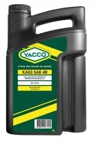 Масло грузовое YACCO XAS3 SAE40 минер. 40, CF/SF (5 л)