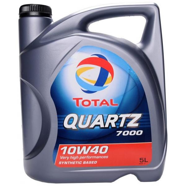 Моторное масло TOTAL QUARTZ 7000, 10W-40, 5л, 201525