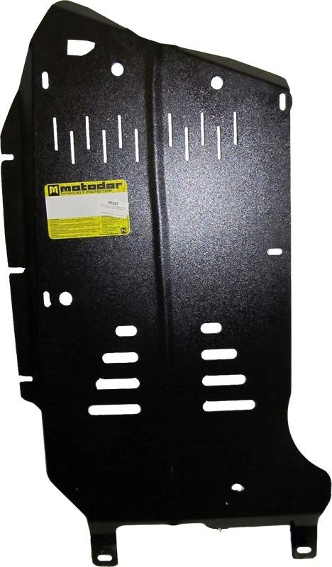 Защита картера КПП, РК BMW 3-й серии кузов E90 (2005-2011) BMW X1 кузов Е84 2009- V=2,5i (сталь 2 мм