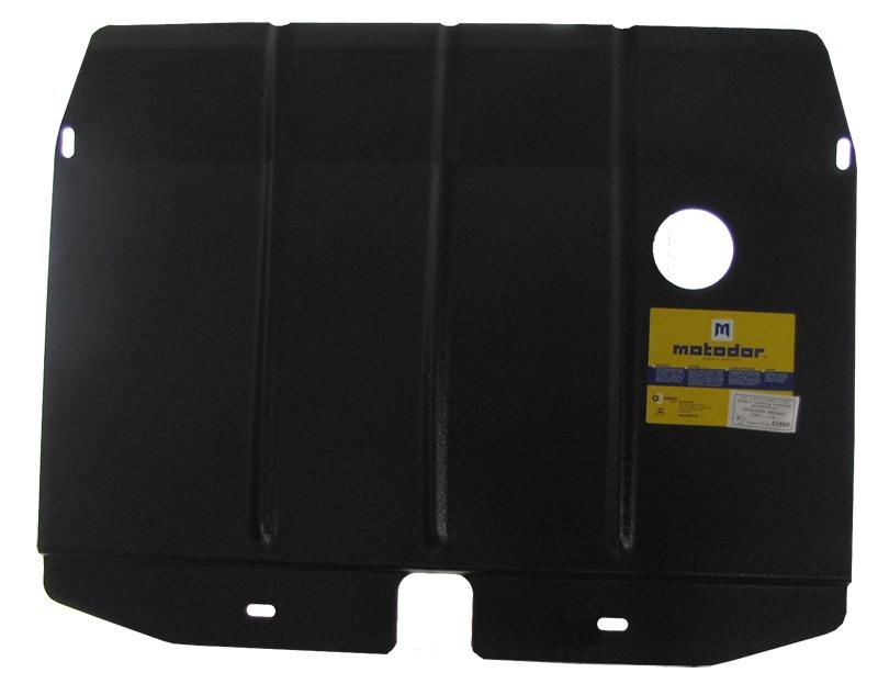 Защита картера двигателя Peugeot 406 1996-2000 V= все (сталь 2 мм), MOTODOR01606