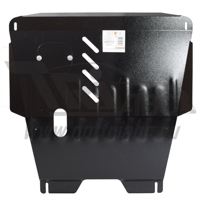 Защита картера двигателя и кпп Toyota Yaris,V-1,3(99-06)/Echo V-все(00-05)(Сталь 1.8 мм), 09867C2