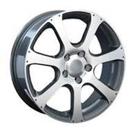 Колесный диск Ls Replica H23 7x18/5x114,3 D66.1 ET50 серый, полированный (GMF)