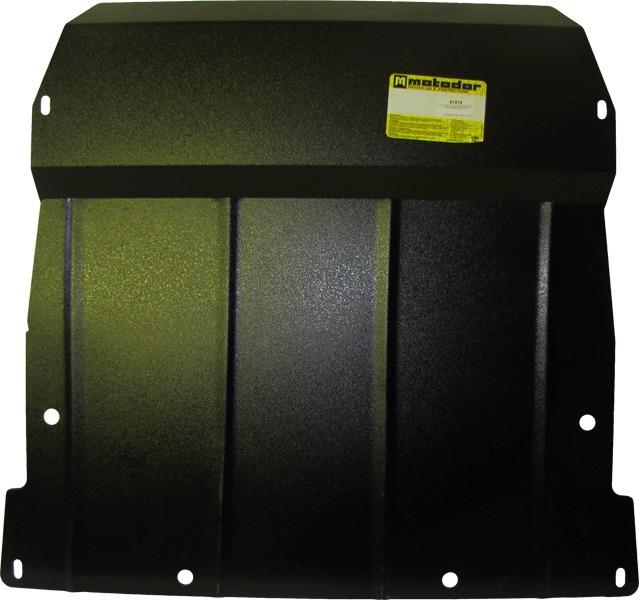 Защита картера двигателя, КПП MB Vaneo MB А-класс 1998-2004 V= все (сталь 2 мм), MOTODOR01215