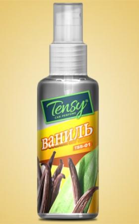 """Ароматизатор Tensy спрей """"Ваниль"""", TSS01"""