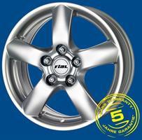 Колесный диск Rial Oslo 6.5x15/5x108 D54.1 ET45 серебро