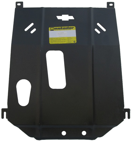 Защита картера двигателя, КПП Chevrolet Cobalt 2013- V=1,5i (сталь 3 мм), MOTODOR03036