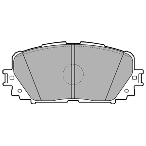 Колодки дисковые, DELPHI, LP2123