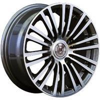 Колесный диск NZ SH581 5.5x13/4x98 D72.6 ET35 темно-серый полированный (GMF)