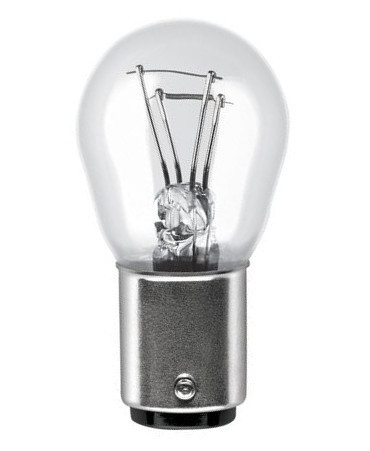 Лампа Pure Light,, 12 В, 21/5 Вт, P21/4W, BAZ15d, BOSCH, 1 987 301 015