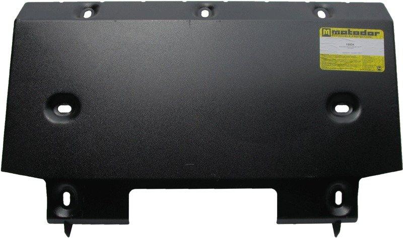 Защита бензобака (2 шт) УАЗ Patriot 2008- V= все,из 2 частей (сталь 3 мм), MOTODOR16504