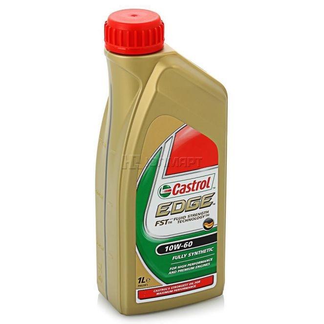 Моторное масло CASTROL EDGE, 10W-60, 1л, 56417