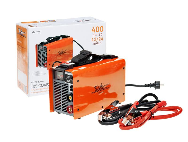 Пускозарядное устройство AIRLINE, 12/24 В от 220 В, 400/250 А, AJS40002