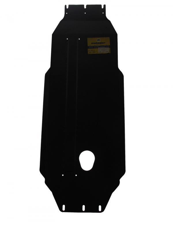 Защита картера двигателя, КПП Nissan Navara/Pick Up (D22) 1998-2007 V= все (сталь 3 мм), MOTODOR1140