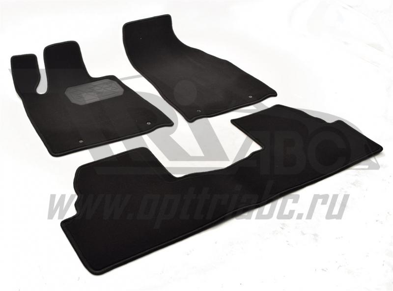 Коврики салона текстильные LEXUS RX 350 (2009-) (Велюр, полиамид)(подпятник п/у)(черные), NPLVTE4707