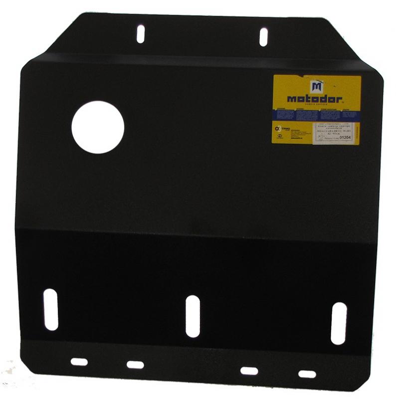 Защита картера двигателя MB 190 W201 V-1.8 2.0 2.3 2.8 (1982-1993)(сталь 2 мм), MOTODOR01204