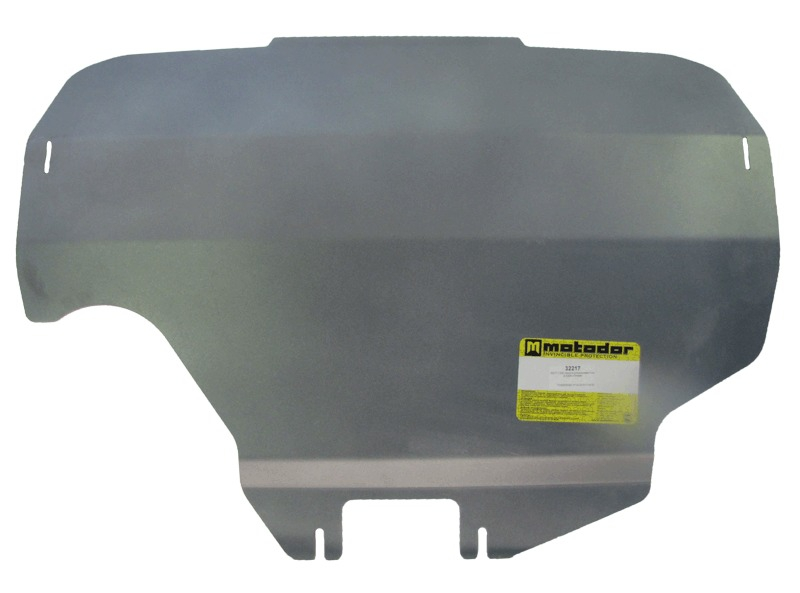 Защита картера двигателя Subaru Forester III 2008-2012 V=2,0, 2,5 (алюминий 5 мм), MOTODOR32217