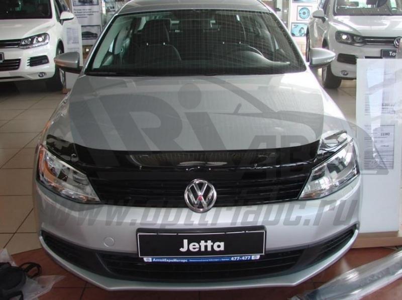 Дефлектор капота Volkswagen Jetta (2011-), SVOJET1012
