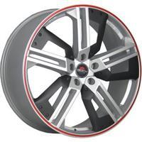 Колесный диск Yokatta MODEL-16 9x20/5x130 D66.6 ET60 серебристый полированный+пластиковые вставки+кр