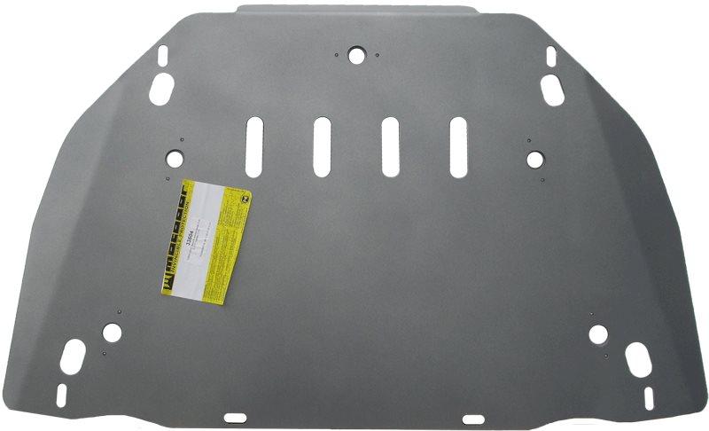 Защита картера двигателя, КПП CADILLAC CTS Coupe 2010- V=2,8, 3,6, из 2 частей(алюминий 5 мм), MOTOD