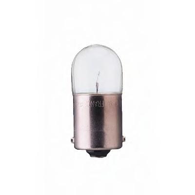 "Лампа ""EcoVision"", 12 В, 10 Вт, R10W, BA15s, PHILIPS, 12814 ECOB2"