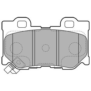Колодки дисковые, DELPHI, LP2157