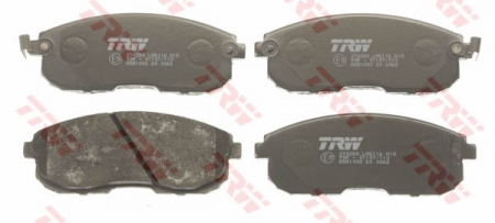 Колодки дисковые Передние, TRW, GDB1003