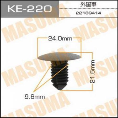 Клипса автомобильная (автокрепеж) MASUMA, KE220