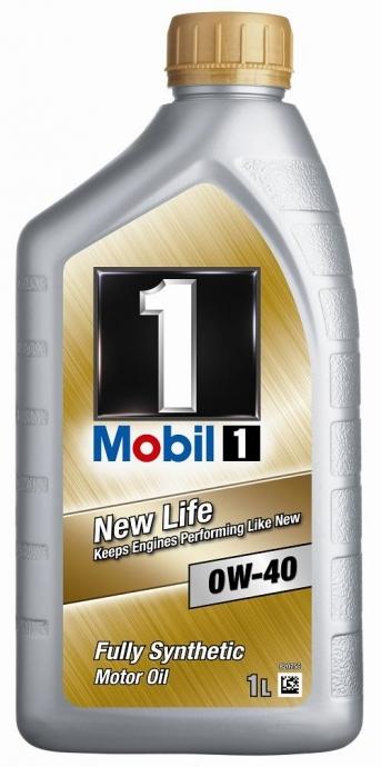 Моторное масло Mobil 1, 0W-40, 1л