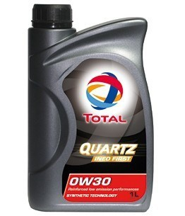 Моторное масло TOTAL Quartz Ineo First, 0W-30, 1л, 183103