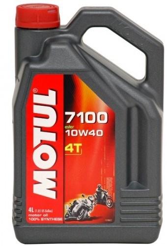 Моторное масло MOTUL 7100 4T, 10W-40, 4 л, 104092
