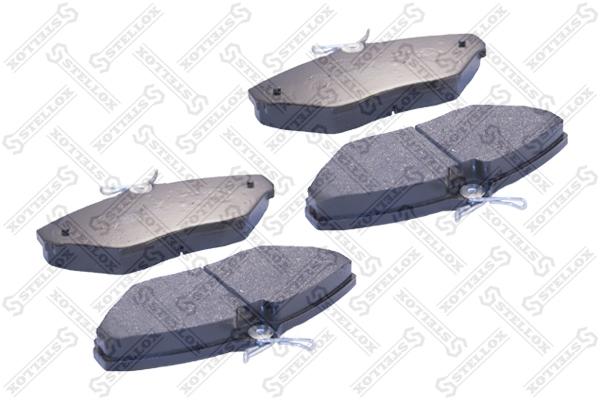 Колодки дисковые, STELLOX, 845020SX