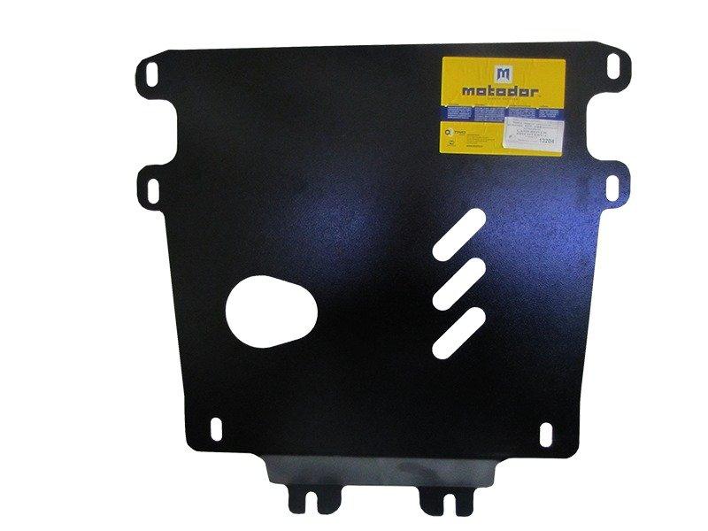 Защита картера двигателя, КПП, РК Land Rover Discovery IV 2009- V=3,0 АКПП (сталь 3 мм), MOTODOR1320