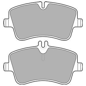 Колодки дисковые, DELPHI, LP1696