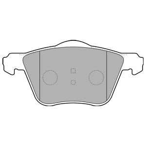 Колодки дисковые, DELPHI, LP1787