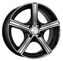 Колесный диск Кик Спирит 6.5x16/5x100 D67.1 ET45 алмаз черный