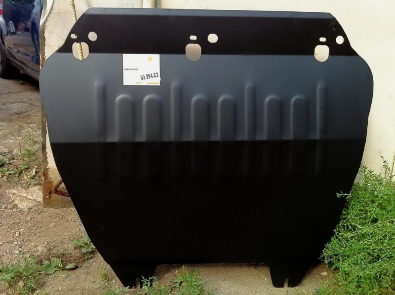 Защита картера двигателя и кпп Ford Focus (V-все, 2004-11)/C-Max (V-все, 2003-10) / Kuga (V-все, 08-