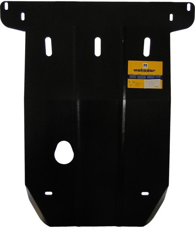 Защита картера двигателя, КПП Fiat Bravo (182) 1995-2001 V= все (сталь 2 мм), MOTODOR00604