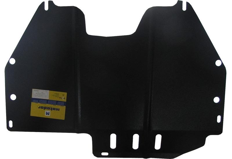Защита картера двигателя, КПП Nissan Murano (Z50) 2002-2008 V=3,5 (сталь 2 мм), MOTODOR01413