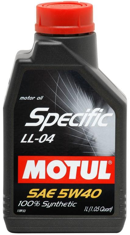 Моторное масло MOTUL Specific LL-04, 5W-40, 1 л, 101272
