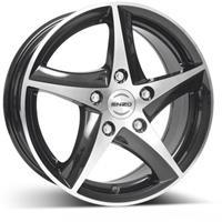 Колесный диск Enzo 117 dark 7x17/5x110 D70.1 ET40 черный полированный (BKF/P)