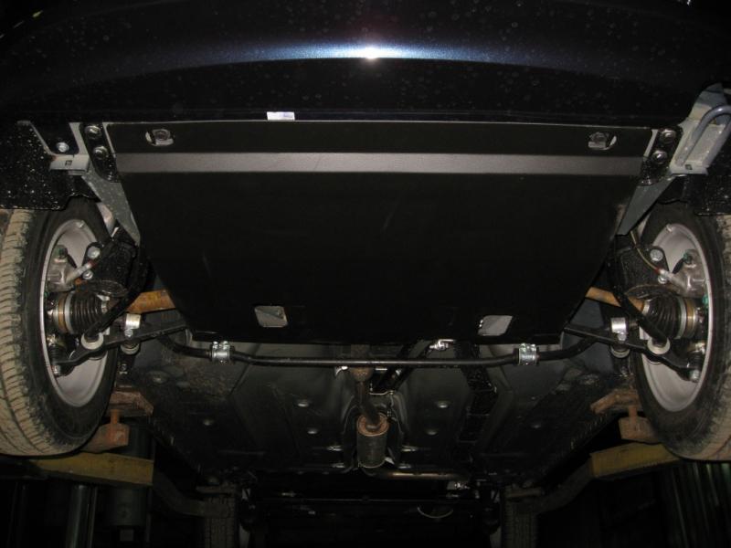 Защита картера двигателя и кпп Vaz Kalina V-все (2005-) / Lada Granta ,V- все(2012-) (Сталь 1,8 мм),