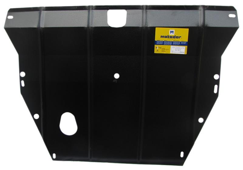 Защита картера двигателя, КПП Kia Cerato 2004-2009 V= все (сталь 2 мм), MOTODOR01013