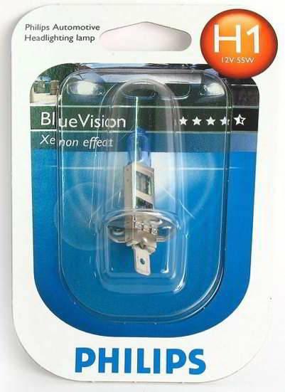 """Лампа """"BlueVision"""", PHILIPS, 12258 BV+B1"""