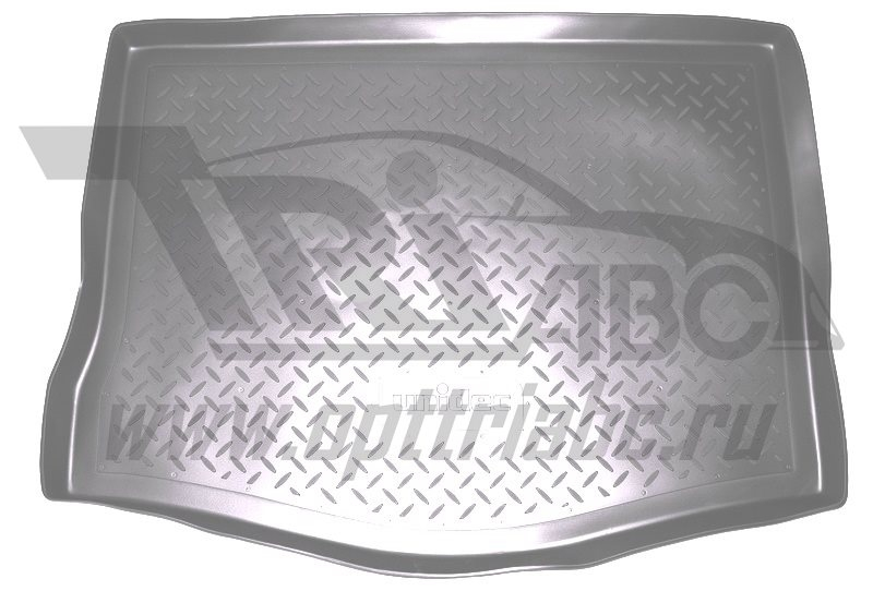 Коврик багажника для Kia Sorento Prime (2015-) (5 мест) Серый, NPA00T43651GREY