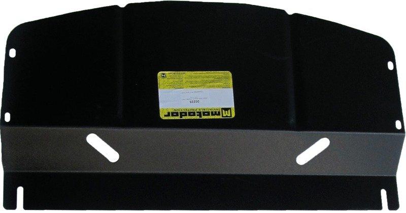 Защита картера двигателя, КПП, РК, радиатора BMW 3-й серии кузов E46 (1998-2005) V=2,5i (сталь 2 мм)