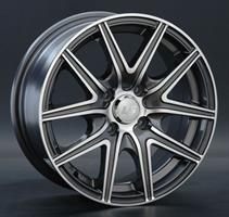 Колесный диск LS Wheels LS 188 6.5x15/5x105 D56.6 ET39 серый матовый полностью полированный (GMF)