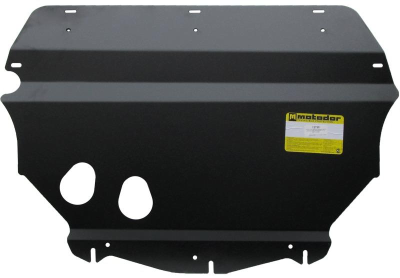 Защита картера двигателя, КПП VW Tiguan 2007- V=2,0TD (сталь 3 мм), MOTODOR12720